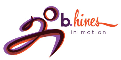 b.hines in motion logo, Bhines, Becky Hines, Business, Personal Trainer, Garage Gym